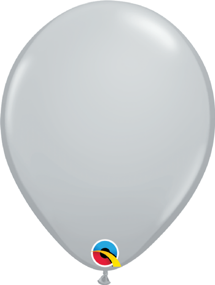 Qualatex Grey Balloons